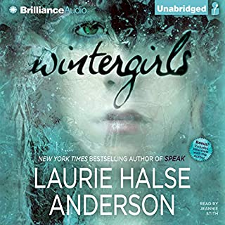 Wintergirls audiobook cover art