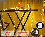 JP-LED Catena Luminosa Di Luci Led 5M Batteria【filo di 50 lampadine 5M e Impermeabile】...