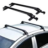 TBVECHI Roof Rack Crossbars Black Car Roof Rack 40'' Cross Bars for Roof Rack with Anti-Theft Function Maximum Load 75KG(160 pounds)