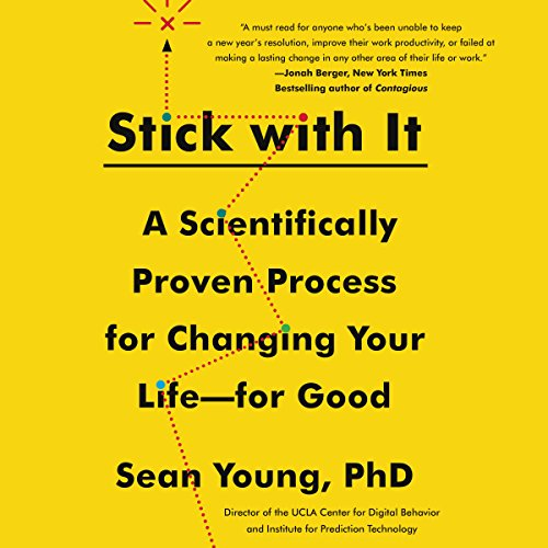 Stick with It audiobook cover art