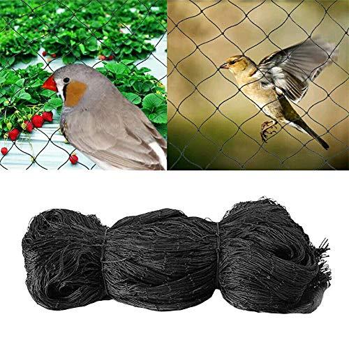 CLIUS Malla para pájaros, Malla Anudada Anti-Paloma Malla para Plantas de Alta Resistencia Protección para jardín Protección de jaulas para Cultivos de Frutas
