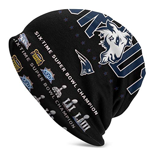 to-M B-Rady Get All The Championship Trophies Adult Men's Knit Hat Winter Fan Cap Balaclava Black