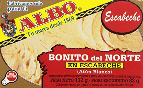Albo Bonito Del Norte en Escabeche Atún Blanco, 82g