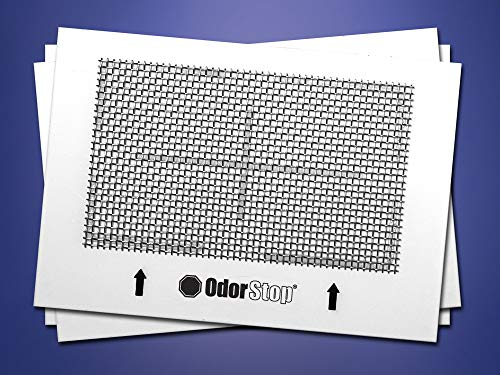 OdorStop OSOP1 - Ceramic Ozone Plate for OS1500, OS2500.12500, Odorfree, Ozone Choice, New Comfort, and All Ozone Generators with a 4.5' x 6.5' Ozone Plate (3 Pack)