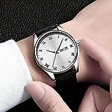 Eantpure Inoxidable Analogicos Fecha, Resistente al Agua, Reloj de Hombre,Reloj de Cuarzo, Moda, Casual, Reloj con cinturón-I,Impermeable Fecha,Relojes.