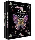 Creatively Calm Studios livre de coloriage avec 120 adultes mis en motifs uniques, 3-pack