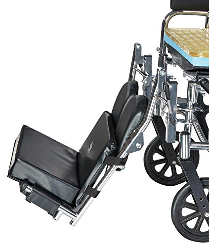 """Skil-Care Wheelchair Footrest Extender/Leg Rest Pad, 2"""" High Foot Pad"""