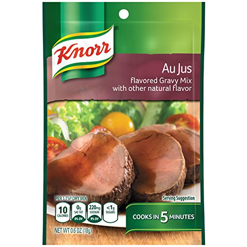 Knorr Gravy Mix, Au Jus, 0.6 Ounce (Pack of 12)