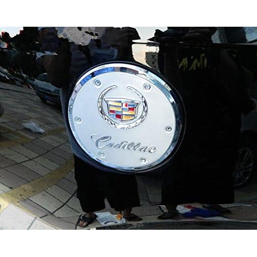 A-PADS Chrome Gas Door Cover for Cadillac ESCALADE EXT 2002-2006 Fuel Chromed Cap Tank
