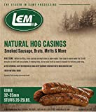 LEM Products 141 8 oz. Vacuum Sealed Bag - Hog Casings for 25 lbs. Meat