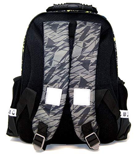 513 IXSq9hL - Minions – Mochila escolar – 37 x 28 x 16 – Apto para DIN A4 – CRO Minion – Caveman – Diseño: Cro Minion + 48 piezas…