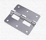 ASDJLK Hardware - Bisagra de aluminio para caja de...