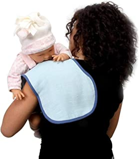 Mycey Tcm00161 Omuz Örtüsü/Bebe Önlüğü Müslin Kumaş, Mavi