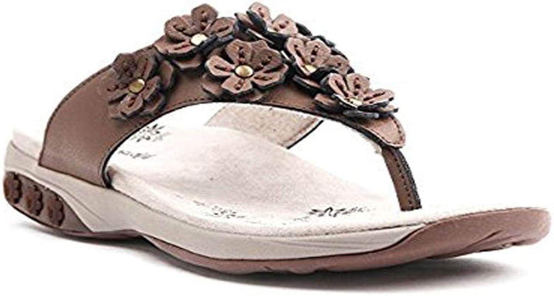 Therafit Women's Flora bluee sandals 9 W
