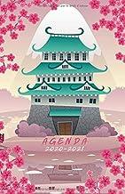 Agenda 2020 2021: Agenda scolaire Journalier pour fille passionnée du Japon et de l'Asie (French Edition)