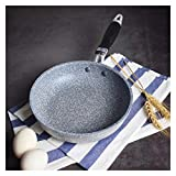 Padella Pan Wok Pan Non-Stick Pan Skillet Cauldron Fornello in induzione Frittura Pannelli Pancake Pan Egg Pan Gas Stufa (Color : Frying Pan 10 IN)