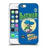 Head Case Designs Oficial Super Friends DC Comics Batman Toddlers Comic Covers Carcasa de Gel de Silicona Compatible con Apple iPhone 5 / iPhone 5s / iPhone SE 2016