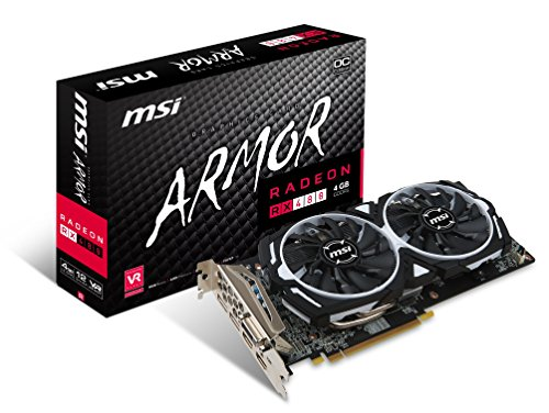 MSI GAMING Radeon RX 480 GDDR5 4GB CrossFire...