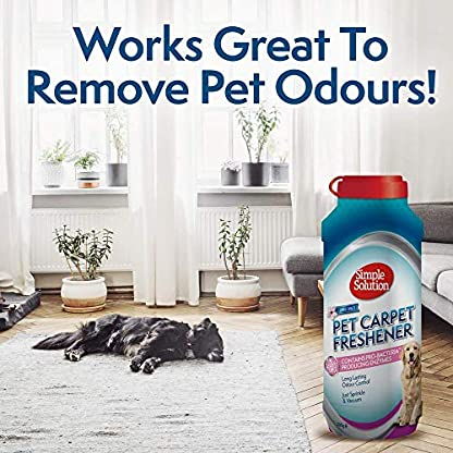Simple Solution Pet Carpet Freshener with Enzymatic Cleaning Granules 5