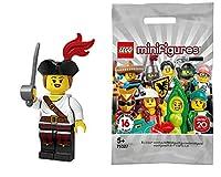 レゴ(LEGO)ミニフィギュア シリーズ20 女海賊│Pirate Girl 【71027-5】