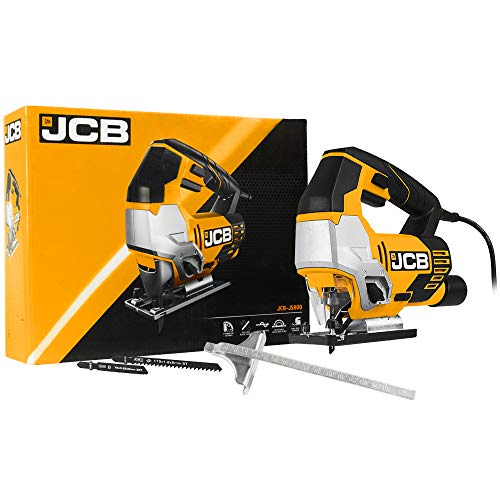JCB - Jigsaw Tool - 800W - Power Tools - Multi Tool - Wood Saw, Metal Saw,...