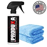 PRODUXA Premium Super Gloss & Ultra Hydrophobic Shine Spray: Revolutionary Paint Polish & Sealer | Multi-Surface Top Coat for Car, Bike & Boat | Applies in Minutes, Long Lasting & Streak-Free | 1 KIT