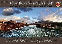 Schottland - Land der Legenden (Tischkalender 2022 DIN A5 quer): Schottland, mystisch, einsam, ein Land voller Legenden fotografiert im Panoramaformat (Monatskalender, 14 Seiten )