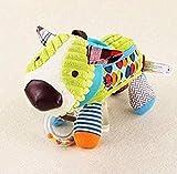 SongJX-Love Cartoon Tier Plüschtier Tiere Elefant Hund Bär Ruhige Puppe Handtuch Plüsch Weiche Gefüllte Puppe Spielzeug Für Kinder Geschenke 18 cm Geschenk Gzzxw