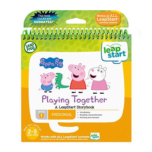 LeapFrog LeapStart 3D Peppa Pig Playing Together Storybook - English Edition