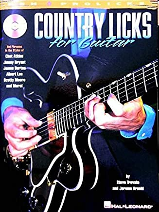 Country Licks for Guitar by Steve Trovato Jerome Arnold(2000-11-01)