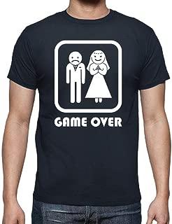 latostadora - Camiseta Matrimonio Game Over para Hombre