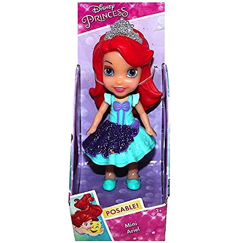 Jakks Pacific Muñeca Princesa Disney Ariel, Multicolor, 7,5 cm (70894)