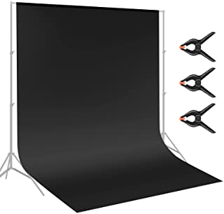 Neewer 9 x 15 feet/2.8 x 4.6 meters Fabric Photography Backdrop Background Screen with 3 Clamps for Photo Video Studio Sho...