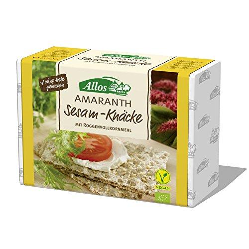 Allos Amaranth-Sesam-Knäckebrot (250 g) - Bio