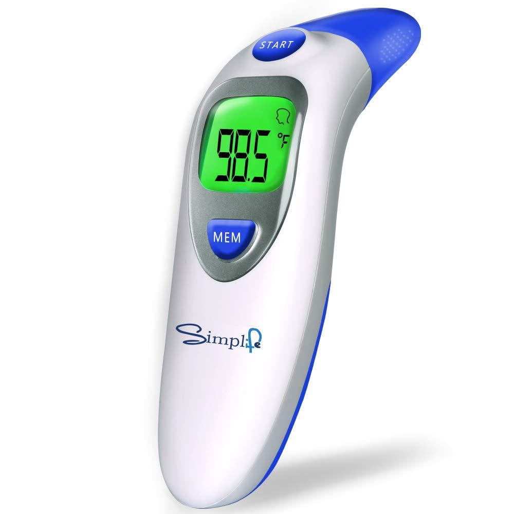 Forehead Thermometer Function Infrared Temporal