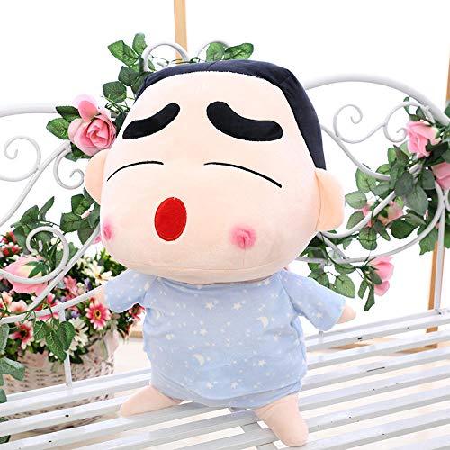 Recordever Knuffel grote krijt kleine nieuwe pop pop kussen creatieve grappige gift-sterrenhemel nachtjapon loensen _75cm (1.3 kg)
