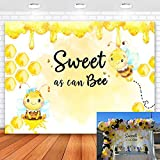 Mocsicka Sweet As Can Bee Backdrop Cute Funny Photo Wallpaper Children Activities Photography Background Birthday Party Decoration Scene Props