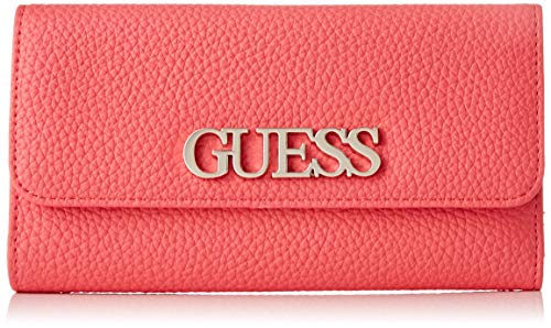 Guess UPTOWN CHIC SLG POCKET TRIFOLD, SMALL LEATHER GOODS Donna, Corallo, UNI