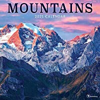 2021 Mountains Wall Calendar 海外