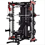 NNI FITNESS 2020 Commercial Smith Machine - Red