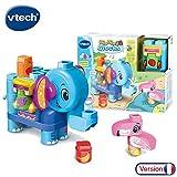 V Tech - Bla-Bla-Blocks - Mon éléphant des découvertes - Multicolore - Version Française
