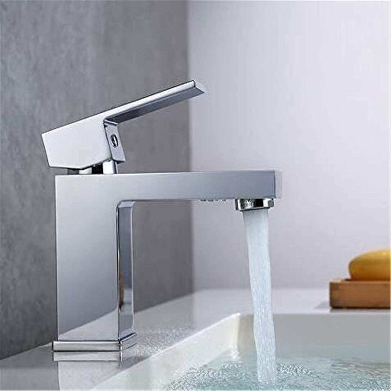 Oudan Retro Deluxe Faucetinging Basin Faucet Bathroom Faucet Brass Water Sink Mixer Deck (color   -, Size   -)