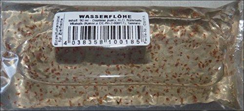 Zoo- Spezi Daphnien, Wasserflöhe, Lebendfutter 90ml Beutel