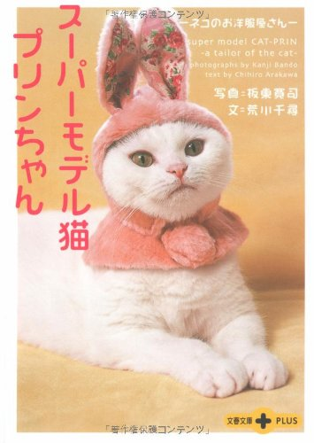 スーパーモデル猫プリンちゃん―ネコのお洋服屋さん (文春文庫PLUS)の詳細を見る