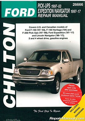 Ford Pick-ups/Expedition and Lincoln Navigator, 1997-2009 (Chilton's Total Car Care Repair Manual)