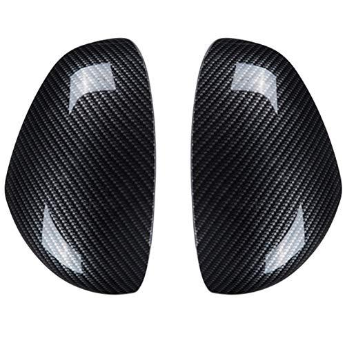para Smart 453 Fortwo Forfour 2015-2019 Espejo Retrovisor Coche Accesorios Modificación Personalidad Espejo Retrovisor Pegatinas Coche Estilo (Color : Estilo Fibra Carbono)