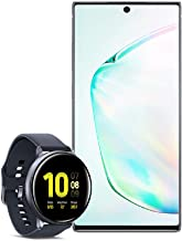 Samsung Galaxy Note 10+ Plus Factory Unlocked Cell Phone with 256GB (U.S. Warranty), Aura Glow (Silver) Note10+ w/Samsung ...