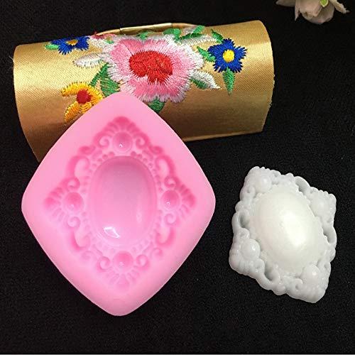 Stampo in silicone per torta con gemme diamantate, per cioccolatini, con pietre diamantate, 1 pezzo