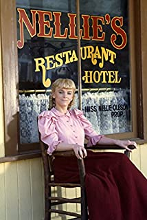 Alison Arngrim in Little House On The Prairie Portrait by Nellie Oleson Hotel Restaurant 18x24 Poster