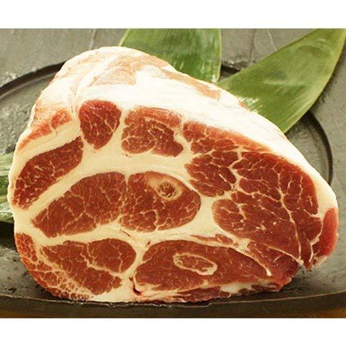 やんばる島豚あぐー ≪黒豚≫ 肩ロース 煮豚用 ブロック 500g×2本 フレッシュミートがなは 沖縄のブランド黒豚 脂肪が甘く旨み成分豊富な豚肉